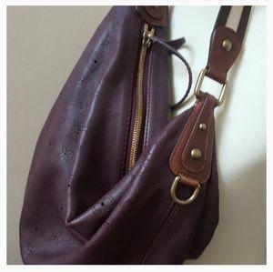 Louis Vuitton Onatah Mahina Hobo GM Maroon Leather 36d7f52b51371